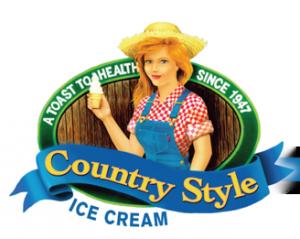 Country Style Ice Cream Logo